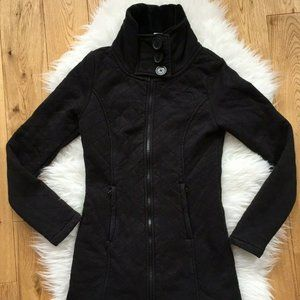 The North Face Caroluna Jacket Zip Up Fleece Lining Quilted Women Size XS